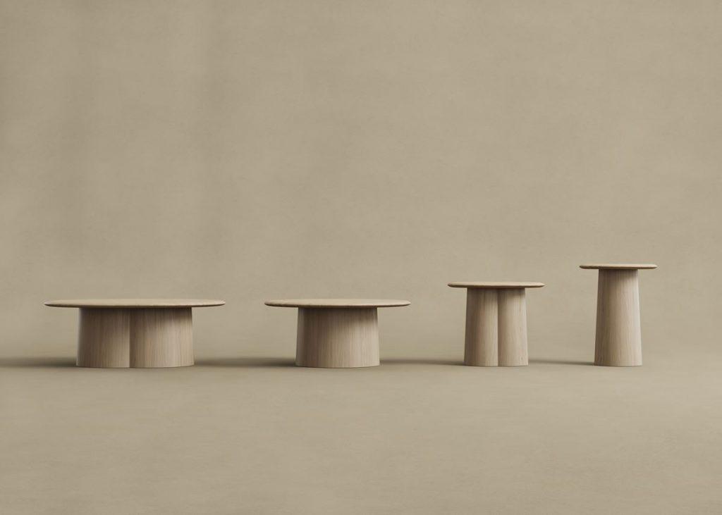 +Halle proto-pöytiä eri kokoisina